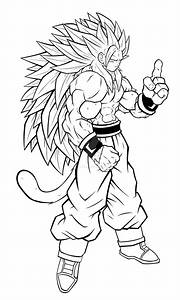 Dragon Ball Z Coloring Pages Goku Super Saiyan 5 - AZ ...