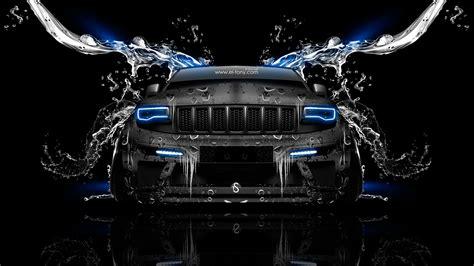 jeep grand cherokee srt front water car  el tony