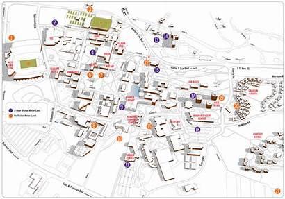 Clemson Map University Campus Parking Maps Carolina