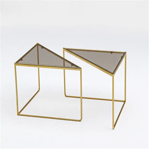 triangular form city furniture 80 s fab geometric triangular form tables