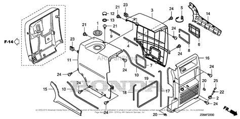 Honda Eu3000ik1 A Generator, Jpn, Vin# Eavj-1100001 Parts