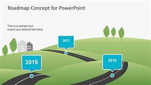 creative roadmap concept powerpoint template slidemodel With road map powerpoint template free