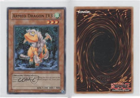 2006 yu gi oh chazz princeton dp2 en010 armed dragon lv3