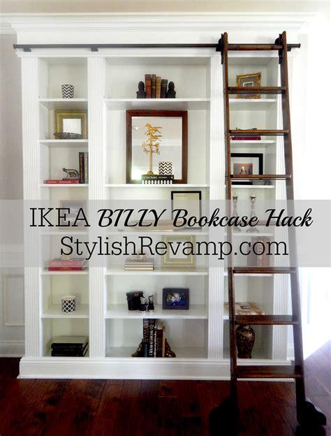 Ikea Hacks Billy by Best 25 Billy Bookcase Hack Ideas On Ikea