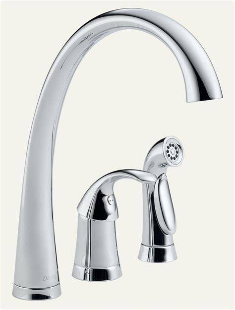 amazon delta kitchen faucets delta faucet 4380 dst pilar single handle kitchen faucet