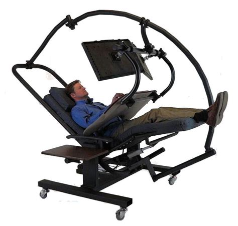 zero gravity desk chair zero gravity workstation 7
