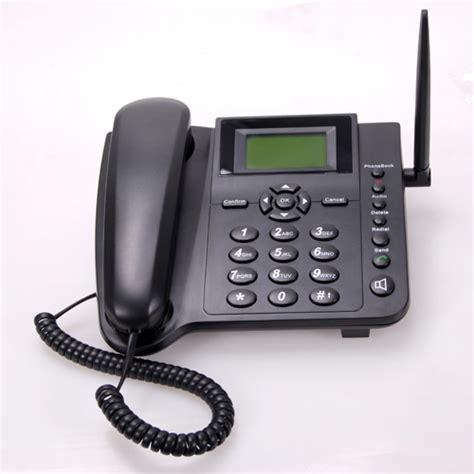 telephone de bureau téléphone de bureau gsm avec emplacement carte sim
