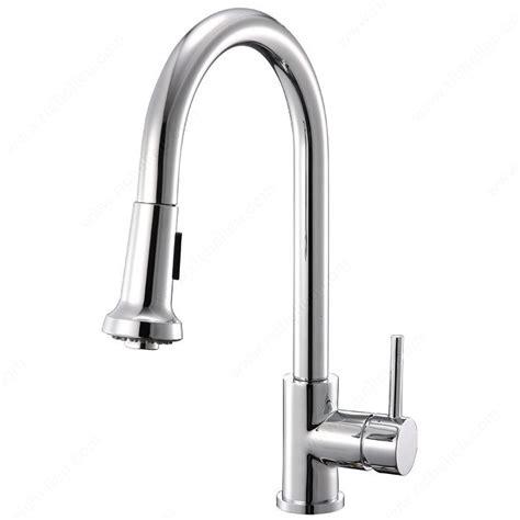 robinet de cuisine design robinet de cuisine riveo quincaillerie richelieu