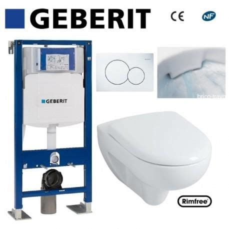 toilette suspendu geberit prix wc suspendu geberit plaque blanche rimfree co achat vente wc toilettes wc suspendu