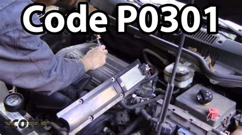 engines misfire p code youtube
