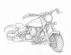 Motorcycle Study - WIP by indigowarrior on DeviantArt