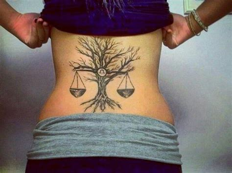 51 Irresistible Libra Tattoos (with History & Meaning