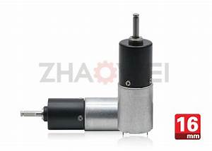 DC 9V Dia16mm Gear Reduction Box With Planetary ...