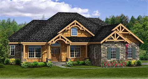 rustic house plan walkout basement ja architectural designs house plans