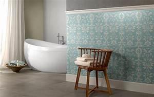 Tapeten Badezimmer Beispiele : stilvolle badezimmerfliesen bild 8 sch ner wohnen ~ Markanthonyermac.com Haus und Dekorationen