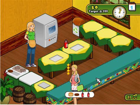 jeu de cuisine hamburger jouer à burger restaurant 2 jeux gratuits en ligne avec