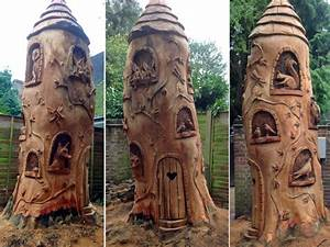 Amazing work by chainsaw sculptor Ella Fielding Lisa Cox