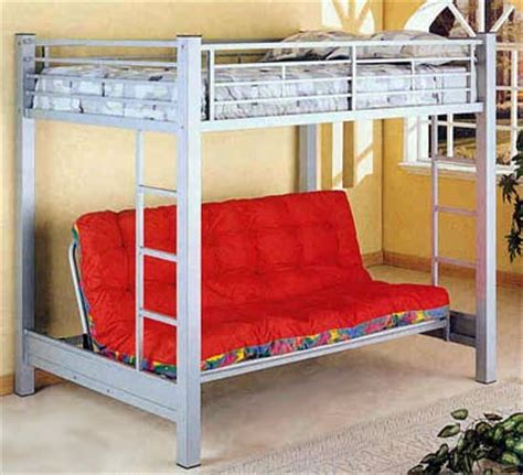 Bunk Beds With Couches Underneath by Futon Planet Futon Planet Size Futon Loft Unit