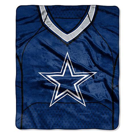 dallas cowboys jersey raschel throw blanket home decor
