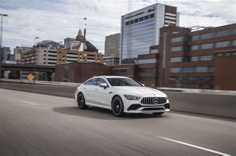 Yet it builds on every dominant trait: 2021 Mercedes-AMG GT43 4-Door Coupe makes speed a little more affordable - Roadshow