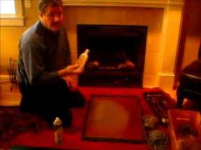 propane fireplace cleaning how to clean your gas fireplace glass