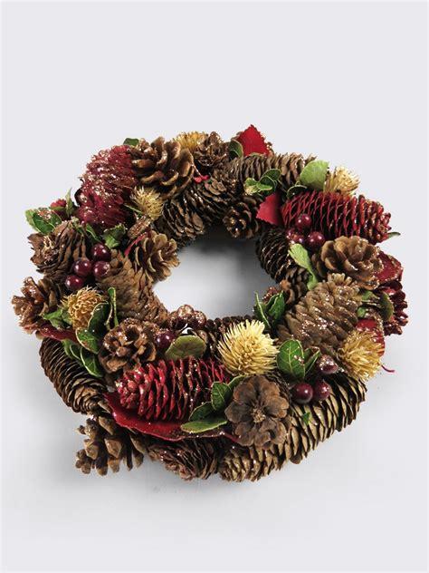 christmas wreaths natural