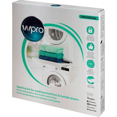 kit de superposition lave linge kit de superposition gain de place whirlpool