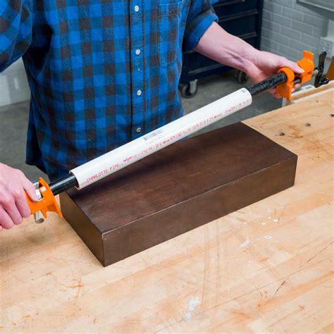 pvc hack bar clamp cover  family handyman