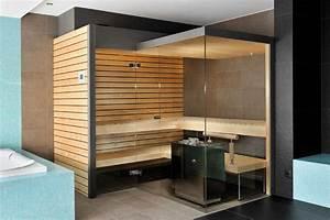 Sauna Für Badezimmer : sauna glasfront sauna sauna ideen und dampfsauna ~ Watch28wear.com Haus und Dekorationen