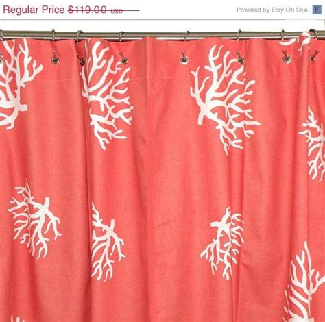 coral colored shower curtain coral shower curtain chevron 72x72 coral and white coral