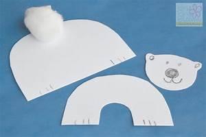 polar bears kids craft step 3 - Brie Brie Blooms