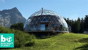 Glass Dome Eco House In The Arctic Circle - YouTube