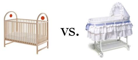 bassinet vs crib crib vs bassinet which is better why