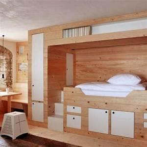 Chambre Gain De Place : 6 id es gain de place pour la chambre c t maison ~ Farleysfitness.com Idées de Décoration