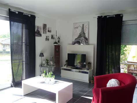 emejing salon noir avec rideau rideaux pour salon moderne rideaux salon moderne 2013