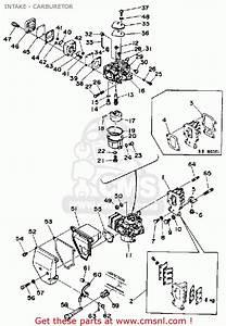 Yamaha 9 9d  15d 1990  1991 Intake - Carburetor