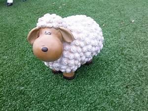 Sculpture mouton: Syma Mobilier Jardin animaux grandeur nature,statuette mouton,