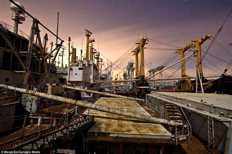 Mothball Fleet Ship Graveyard