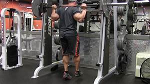 Smith Machine Single Leg Calf Raise