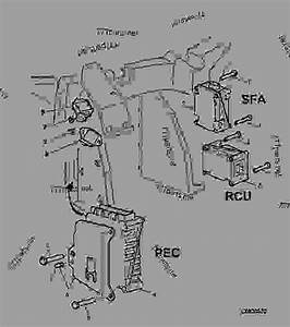 Pec  Rcu And Sfa  Cab  - Tractor John Deere 6310