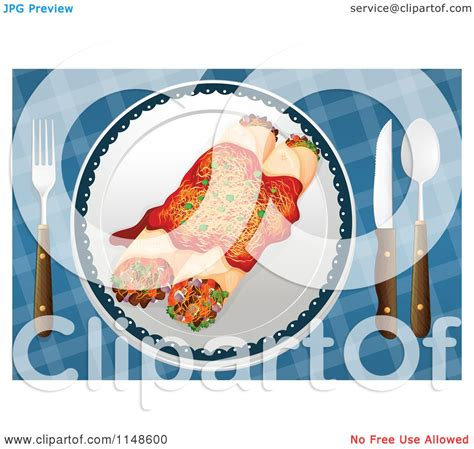free royalty free clipart of a plate of enchiladas royalty free vector