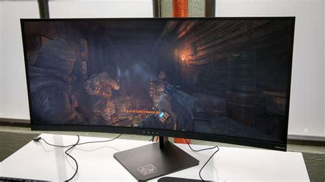 hp debuts  curved slim    computer  gaming