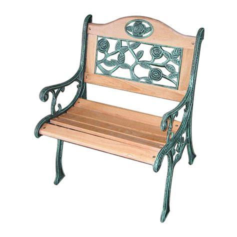 cheap woodcast iron garden chair  sale  wooden