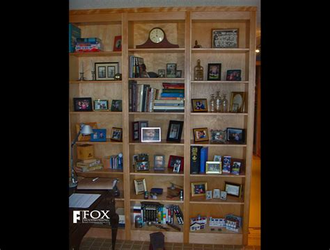 Birch Bookcases by Birch Bookcases Fox Woodworking