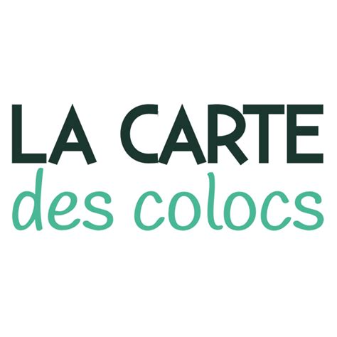Carte Des Colocs by La Carte Des Colocs Cartedescolocs