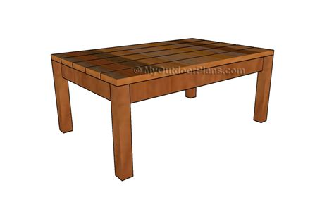 woodwork  coffee table plans  plans