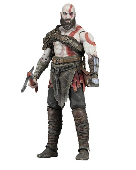 God Of War 4 Kratos 7 Inch In Stock At Neca Stores Now