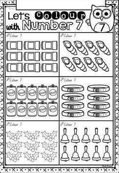 count  colour math worksheets  nsw foundation font