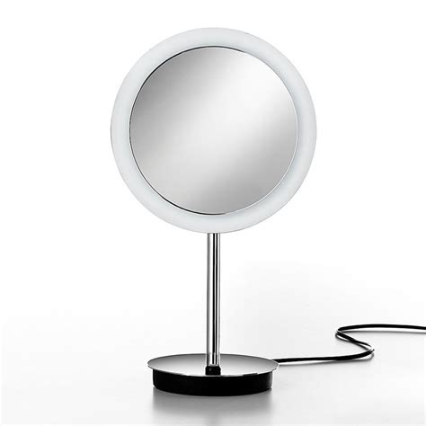 Bathroom Magnifying Mirror With Light by Shop Ws Bath Collections Mirror Chrome Magnifying