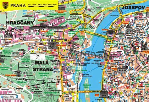 travel prague map